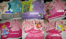 * NEW GIRLS 3PC DISNEY PRINCESS TINKERBELL OUTFIT SET SZ 2T 4T 6