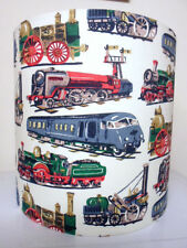 """8"""" LAMPSHADE in CATH KIDSTON STEAM TRAIN FABRIC  ready made or kit"""