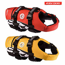 EZYDOG DOG FLOTATION DEVICE - LIFE JACKET FOR DOGS IN 2 COLOURS - FREE UK P&P