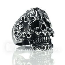 Discount  Men's 316L Stainless Steel Skull Ring  SIZE  9 10 11 12 13 on sale