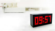 Hot Digital LED Display Small Number Clock Time Temperature Date Alarm Snooze