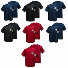 US Military Army Air Force USMC Marines Coast Guard Navy T-Shirt T-Shirts Tees