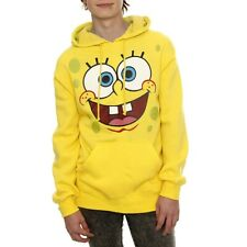 SpongeBob Face Adult Hoodie New