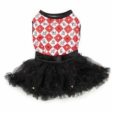 Zack & Zoey SWEETHEART SCOTTIE Tank & Tutu Dog Tulle Christmas Valentines Day