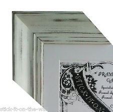 GRANDIOSE RUSTIC CHIC, VINTAGE STYLE,  HAND FINISHED PICTURE FRAMES