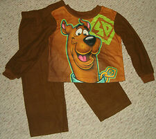 NIP Scooby Doo 2-pc Flannel Pajamas set Size 4/5 - 6/7 - 8 - 10/12