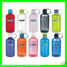 Nalgene Tritan 1L (32oz) Narrow Mouth Water Bottle - BPA Free -Assorted Colours