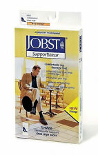 Jobst For Men Compression Knee Socks 8-15 mmHg Therapeutic Supports Casual Ribbe