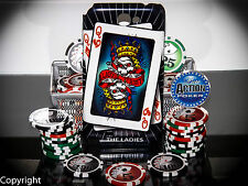 TEXAS HOLD'EM POKER SAMSUNG GALAXY NOTE 2 CELL PHONE CASES CASINO GAMES