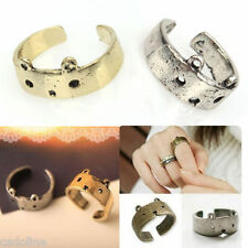 *UK* CUTE SILVER or BRONZE ANIMAL BEAR ADJUSTABLE BAND RING HALLOWEEN COSTUME