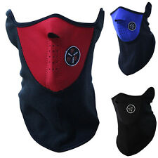 3 Colors new Unisex CS Shield Ski Cycling Winter Warm Half Face Mask Neck Cover