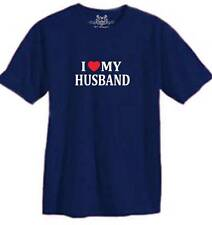"""New MEN'S PRINTED """"I LOVE MY HUSBAND"""" FUNNY T-shirt ALL SIZE"""