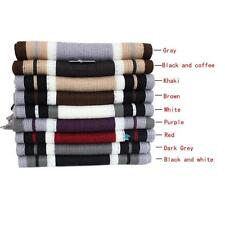 Winter Classical Men's Artificial Wool Tassels Scarf Long Pashmina Warm Shawl TR