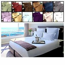 1800 Count Deep Pocket 4 Piece Bed Sheet Set -12 Colors available in all sizes