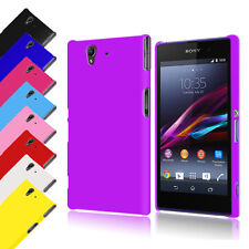 Hybrid Hard Back Case Cover for Sony Xperia Z L36H + Screen Protector