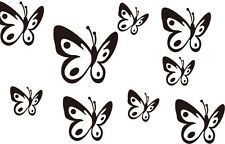 Wall Tattoo Butterfly, 2-28 Pieces, Wall Tattoo, Wall Foil