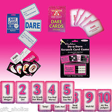 Various HEN/STAG PARTY DARE GAMES & RATING CARDS Hen Night Party Novelty Gifts