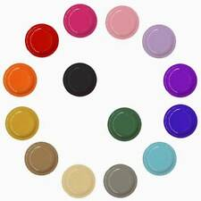 """7"""" & 9"""" Disposable Paper Plates - 19 Colors - 96 or 192 pk- FREE SHIPPING"""