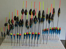2 x OXBOW POLE FLOATS 0.1gr - 1.5gr COMMERCIAL CARP LAKE CANAL RIVER
