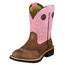 Women's Ariat Fatbaby Cowgirl Brown & Pink 10006855