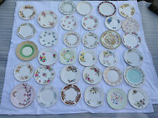 Vintage Fine Bone China Side Plate or Tea Plate for Weddings China Replacements