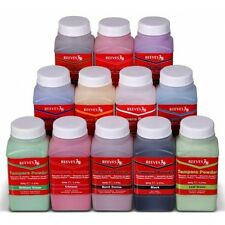 Reeves Tempera Powder Paint 500g Tubs - White Black Blue Yellow Red Green Purple