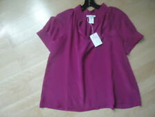 Paul & Joe Sister The Centaure Blouse  in Fuscia NWT Size 3 or M $195 Equisite