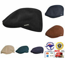 KANGOL Wool Clery Cap - Warm Winter Driving Hat Seamless 6988BC New Authentic