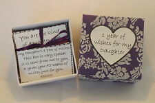 1 Year of thoughts & wishes for My Daughter* - Birthday,Wedding, Christmas