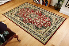 Kendra 217R Traditional Persian Oriental Design Red Black Rug S-XXL Sizes 30%OFF