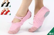 Womens Ballroom Belly Dance Training Latin Soft Heel Shoes 4 Colors N0019 GBW