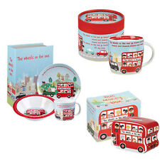 Churchill China Wheels On The Bus Mugs Breakfast Sets Money Boxes Cutlery