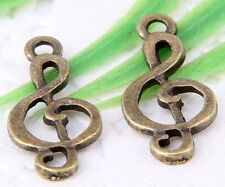 Wholesale 26/58Pcs Bronze Plated(Lead-Free)Charms Pendants 37x11mm