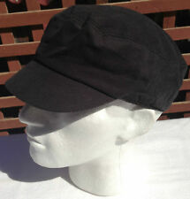 KANGOL Organic Canvas Mau Cap BLACK Military 9997BC Mens Cadet Baseball Hat
