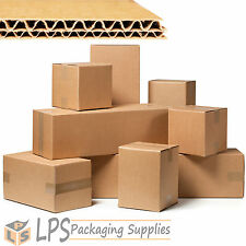 """12"""" x 9"""" x 3"""" Double Wall Cardboard Box Mailing Boxes Packaging 305 x 229 x 78mm"""