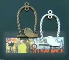 10 x LARGE TIBETAN BIRD CAGE CHARM PENDANT FOR JEWELLERY MAKING FINDINGS