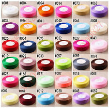 "50 Yards 3/8""(10mm) Sheer Organza Ribbon Craft Party Wedding Decoration 36 color"