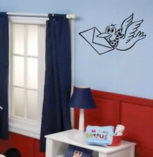 PIGEON wall sticker carrier bird pigeons silhouette�animal decal dove transfer