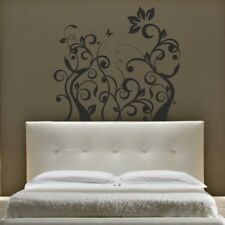 FLORAL wall stickers decorative swirl pattern transfer decal home vinyl sticker