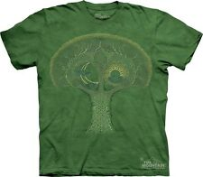 Celtic Roots T-Shirt by The Mountain. Celtic Tree Green Sizes S-5XL NEW