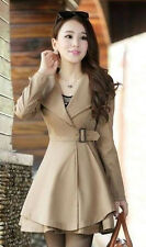NEW spring women's fashion large lapel coat jacket and long sections