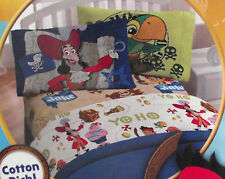 Jake and the Never Land Pirates Sheet Set ▬  Twin Size  ▬ New ▬ 3 Pieces