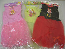 DISNEY GIRLS DRESS UP FANCY DRESS COSTUME NEW PRINCESS TINKERBELL MINNIE MOUSE