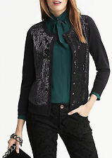 Banana Republic $98 Women L'Wren Scott Collection Sequin Cardigan Size XS,PS,S,M