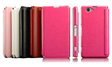 For Sony Xperia Z1 Compact D5503 KLD Enland PU Leather Flip Case Cover Pouch New