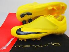 NIKE MERCURIAL VAPOR V FG FOOTBALL BOOTS SOCCER CLEATS YELLOW