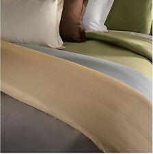 Duvet Cover Set 100%Egyptian  1800 Series 3Pc Set Full/Queen, King/Calking