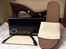 "Onesole Interchangeable Shoe ""Cafe (Brown) Traveler"" CLOSE OUT Only $39.00"