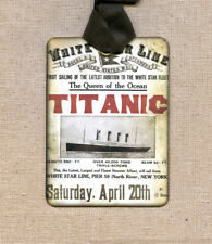 Hang Tags  TITANIC WHITE STAR LINE TAGS or MAGNET #523  Gift Tags