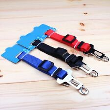Vehicle Car Seat Belt Seatbelt Harness Lead Clip Pet Cat Dog Safety Adjustable